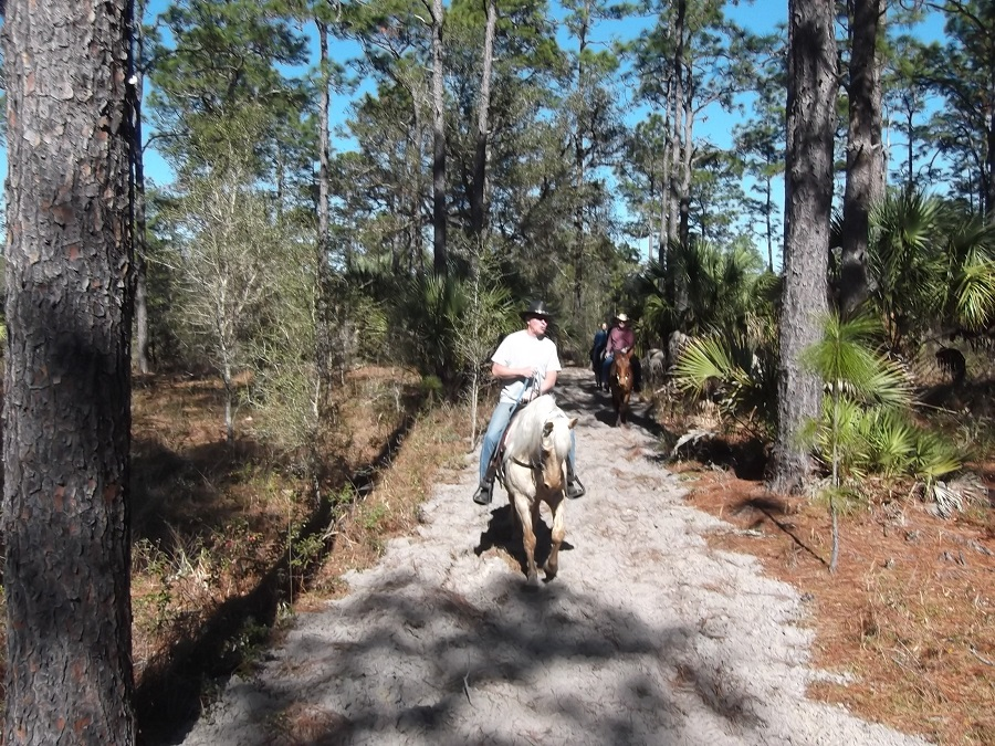 Happy Trails Goethe Trailhead Campground Dunnellon